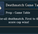 Deathmatch Game Table