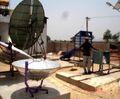 C.V. Ramen College of Engineering soalr relfector development, 9-9-14.jpg