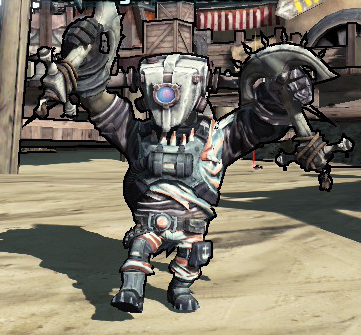 psyco borderlands mutant midget