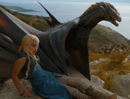 500px Season 4 Drogon and Dany Game of Thrones Season Five Spoiler Free Preview