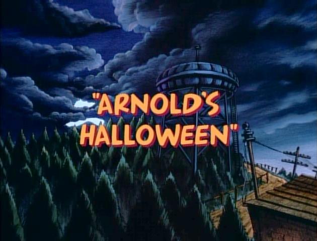 Hey arnold halloween dvd