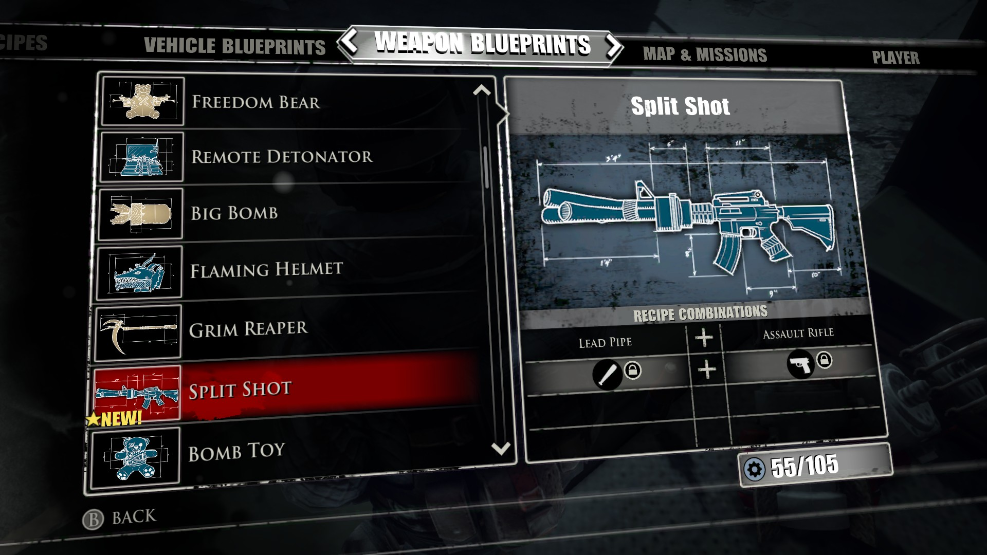 Laser sword blueprint dead rising 4 dead rising 3 laser sword split shot dead rising wiki malvernweather Images