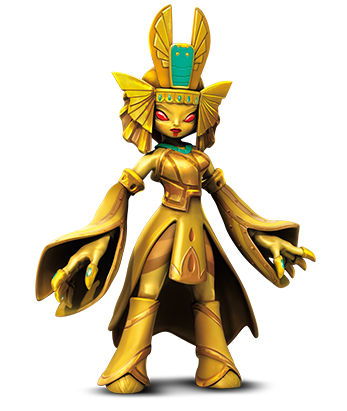 Golden Queen - Portal Masters of Skylands unite!