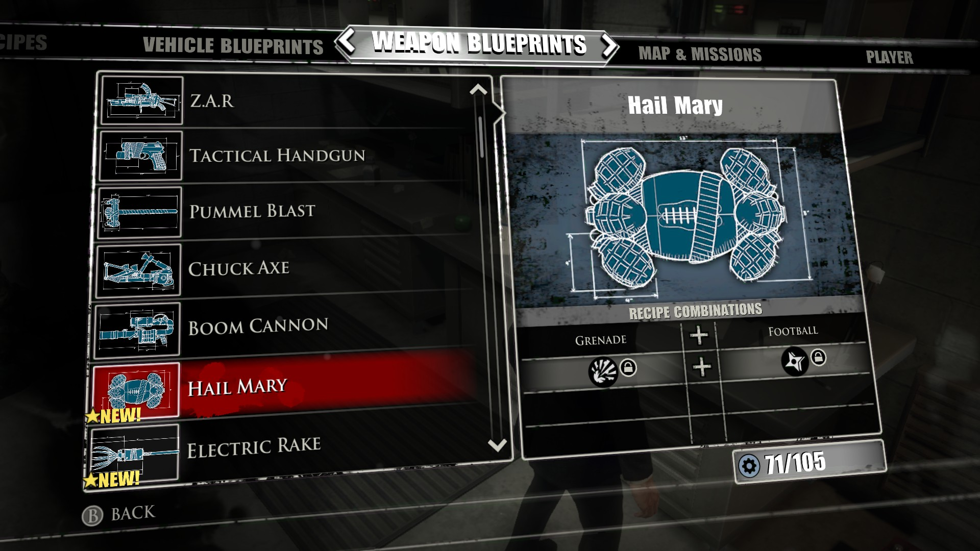 Laser sword blueprint dead rising 3 dead rising 3 laser sword hail mary dead rising 3 dead rising wiki malvernweather Image collections