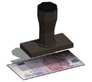 Banknote Stamp