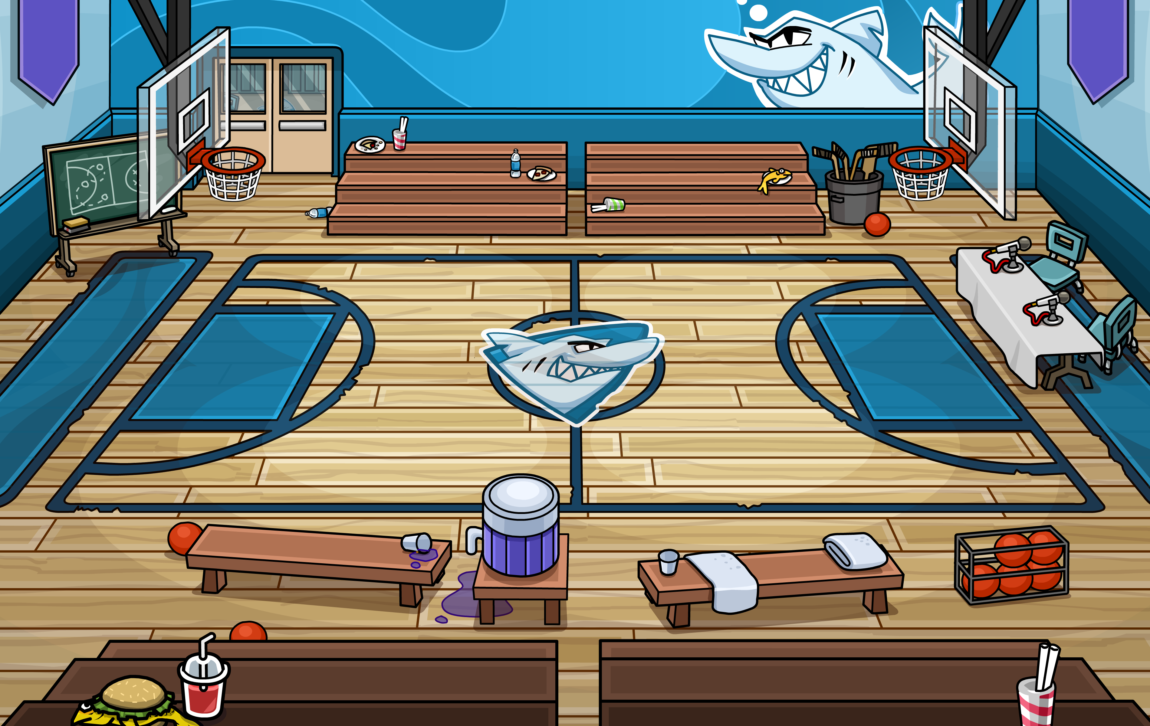 Gym room club penguin wiki the free editable