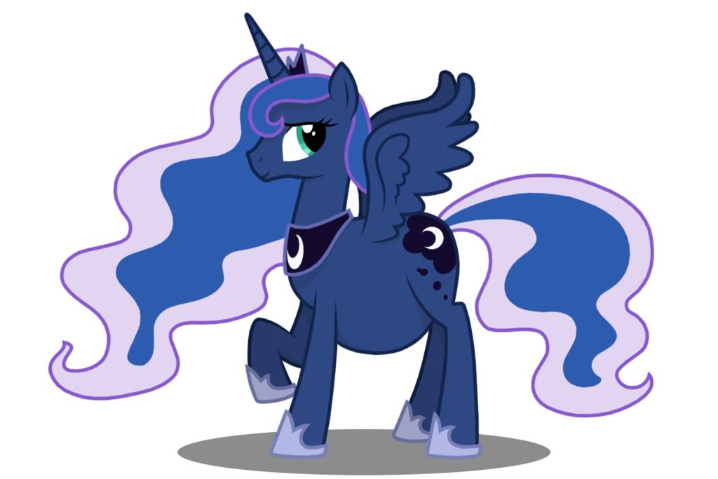 Mlp Pregnant Luna Princess luna (pregnant)