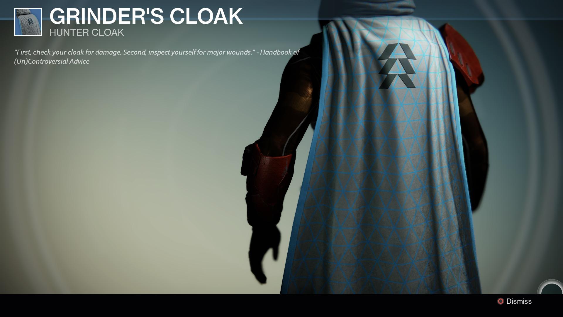 how to get a cloak in destiny 2