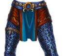 Blue Jaguar Warrior's Pants