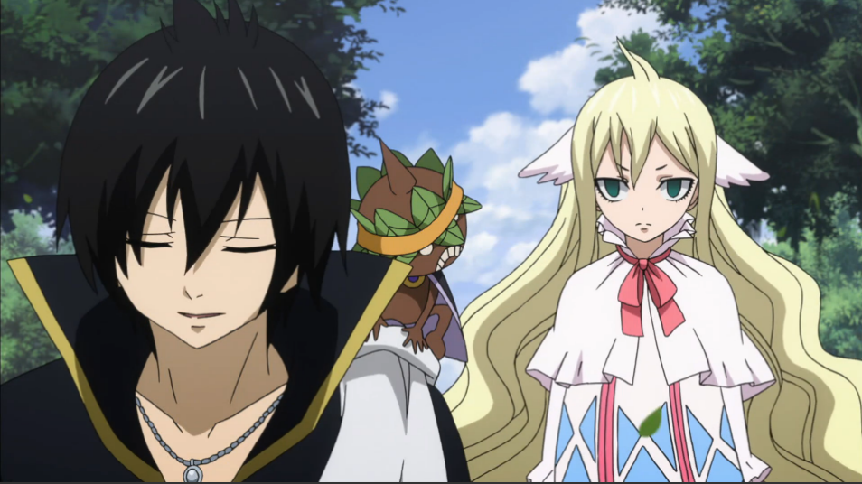 fairy tail zeref and mavis relationship test