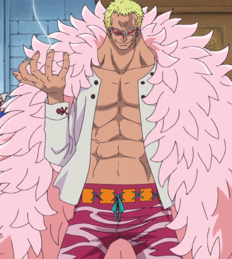 Talk Donquixote Doflamingo on tv animal characters