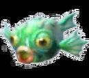Green Spiky Fish