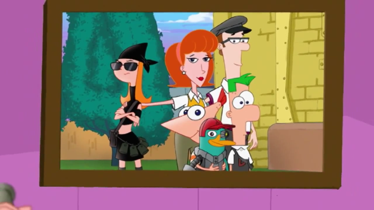 Flynn-Fletcher family (2nd Dimension) - Phineas and Ferb