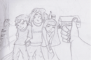 Lineart of friends and family by estrangeloedessa-d4vpvp0.png
