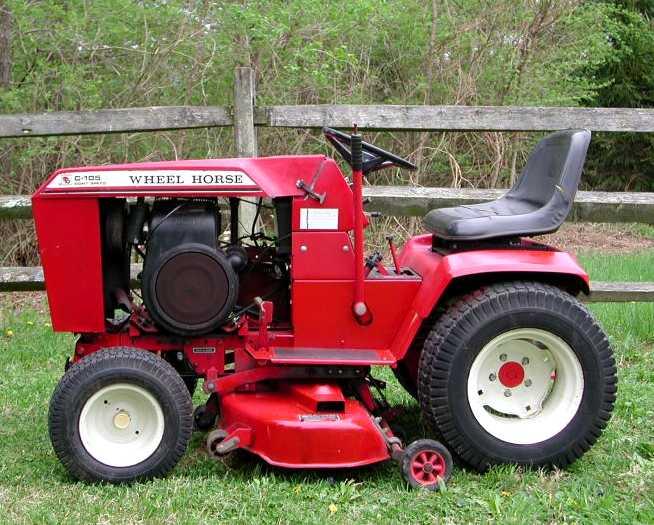 Wheel Horse Tractors : Wheel horse c tractor construction plant wiki wikia
