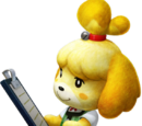 Isabelle Guise Palico Armor (MH4U)
