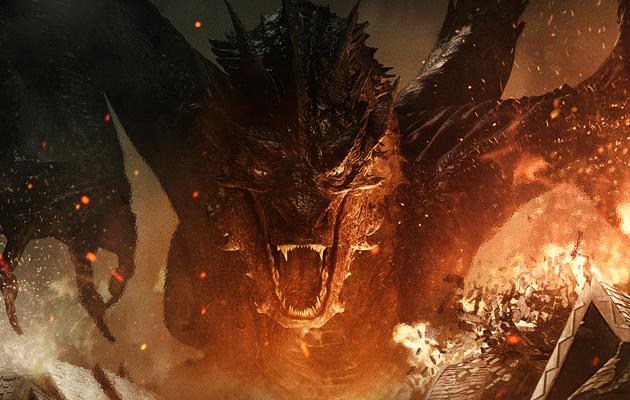 smaug the dragon hobbit - photo #6
