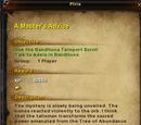 A Master's Advice