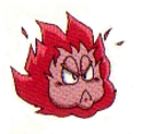 Artwork de Bola de fuego en Kid Icarus Of Myths and Monsters.png