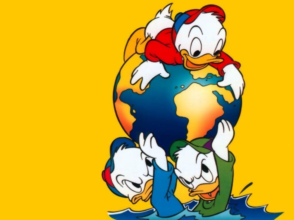Animated Duck Wallpaper Huey Dewey And Louie Mickey