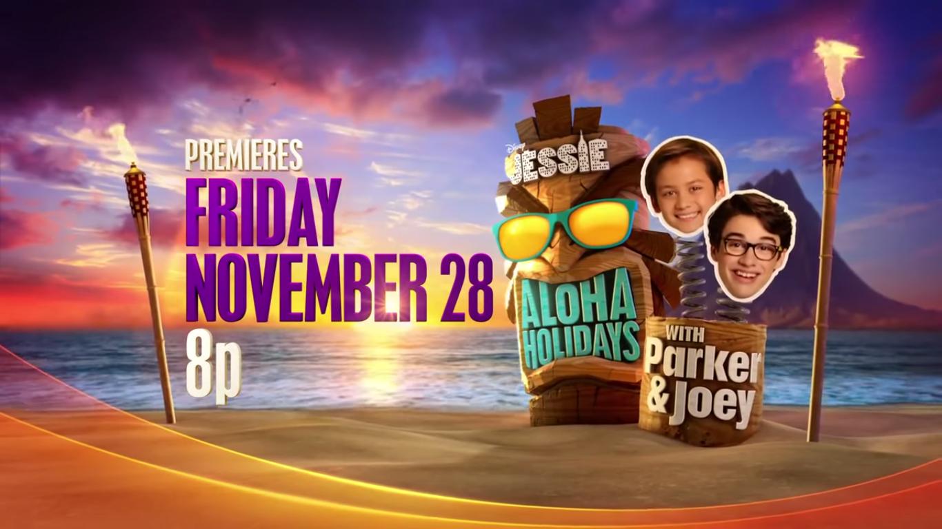 Jessie s aloha holidays with parker amp joey jessie wiki wikia