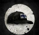 Головной убор с Финским флагом