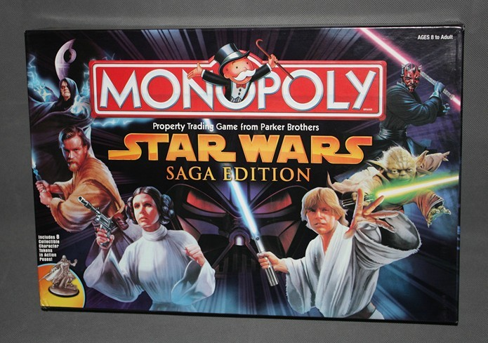 how to play star wars monopoly