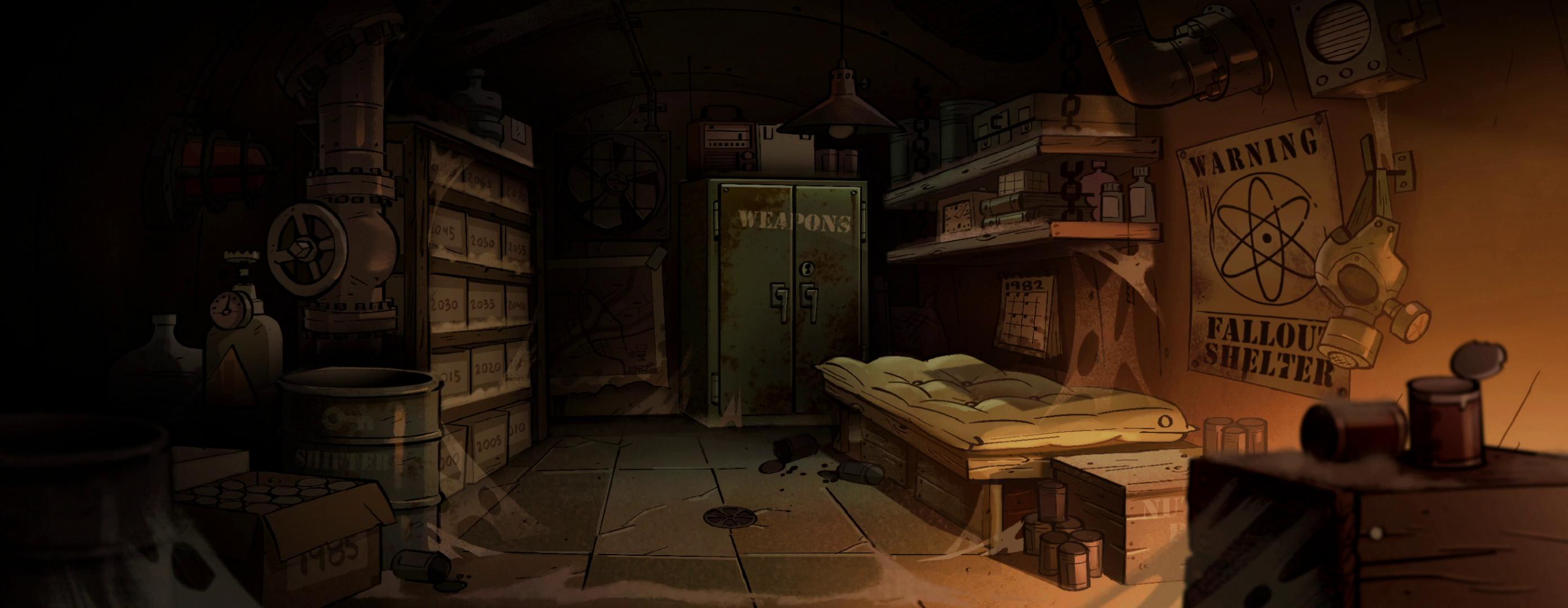 Bunker Gravity Falls Wiki