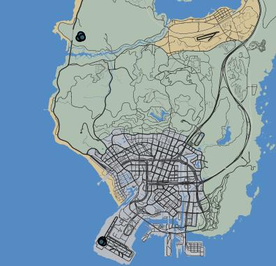 Battle of Los Santos LTS - GTA Wiki, the Grand Theft Auto ... San Andreas Los Santos Map