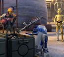Droidi v nesnázích