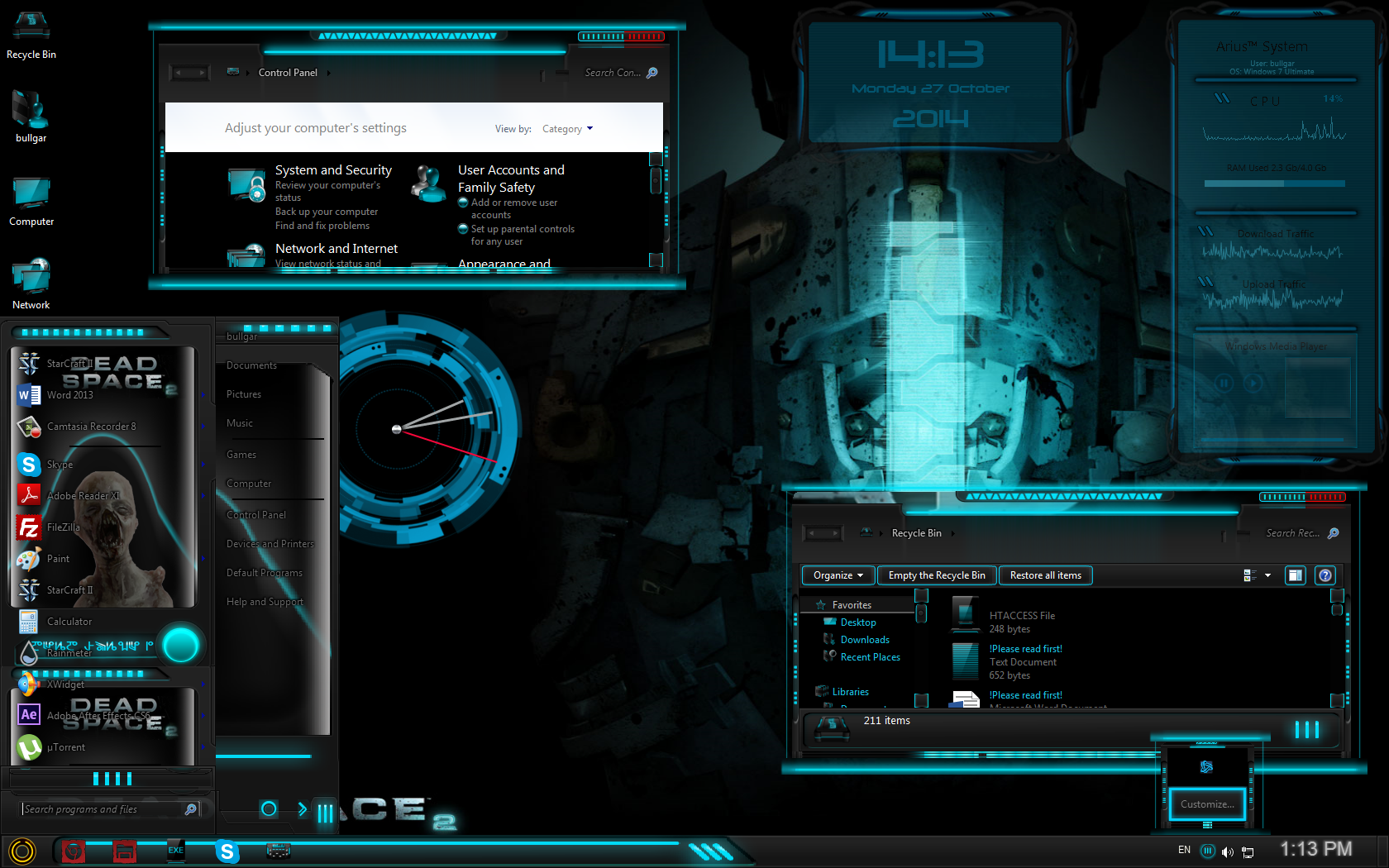 10 pretty awesome windows 7 themes [futuristic shell themes ].