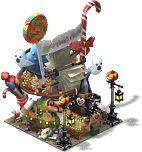 Witch's Candy Cart-SE