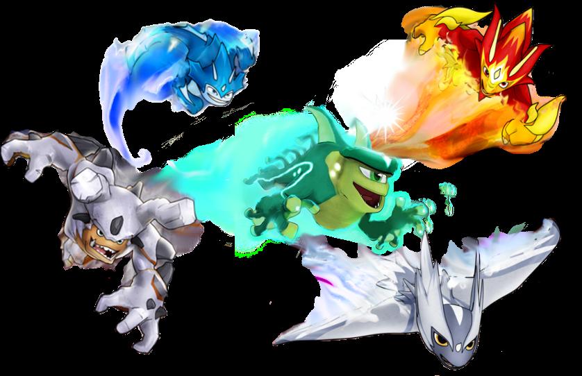 slugterra elemental slugs coloring pages