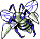 Beedrill Silver Shiny Sprite.png