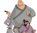 Ling, Yao y Chien Po