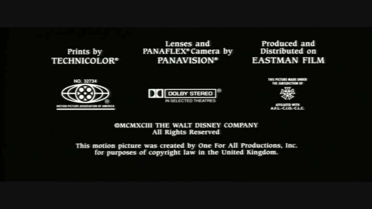Mpaa Credits: The Three Musketeers 1993 MPAA Credits.jpg