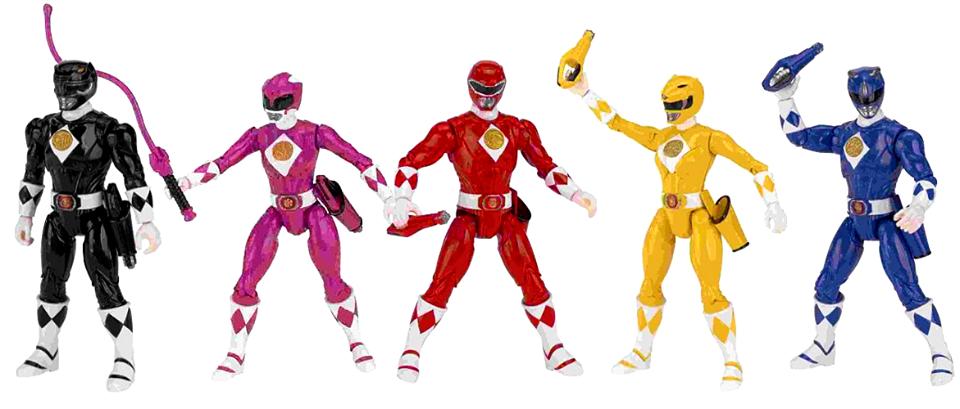 legacy mighty morphin power rangers toyline rangerwiki