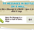 99 Messages In Bottles On A Wall...