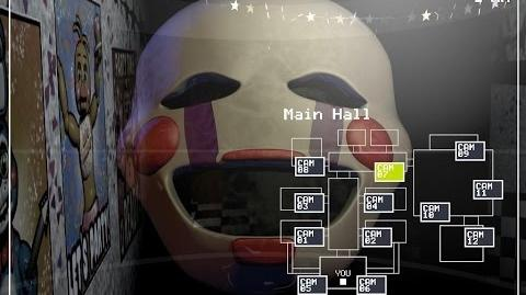 How to catch quot the puppet quot or marionette on camera in fnaf2