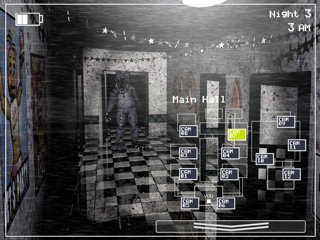 Old bonnie in the main hall jpg five nights at freddy s wiki