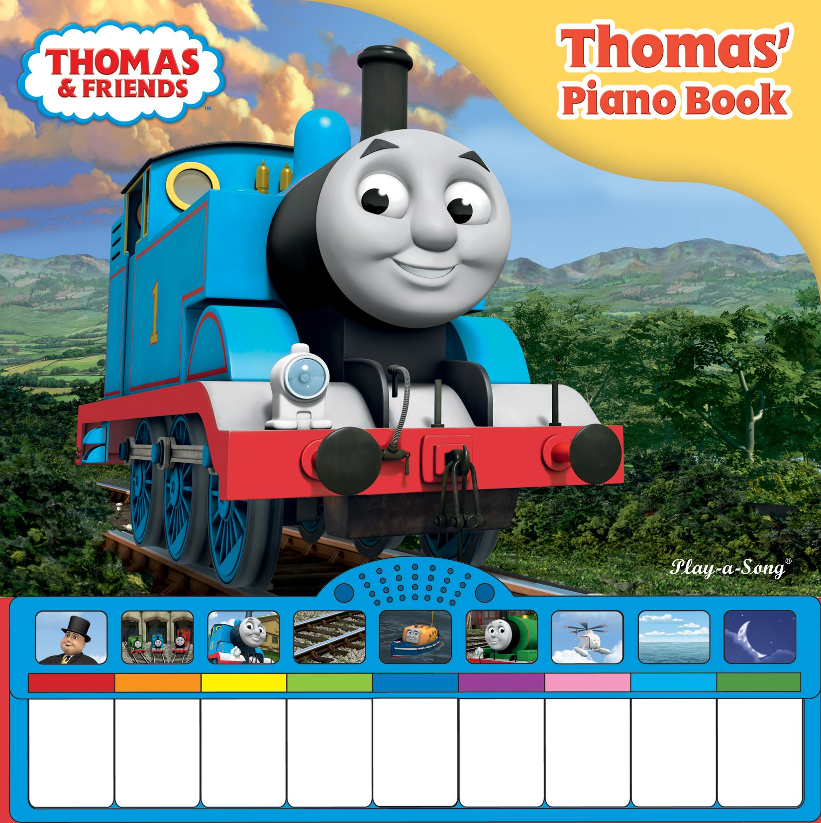 how to play thomas the tank engine on piano