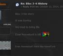 Bloc 3-4 history