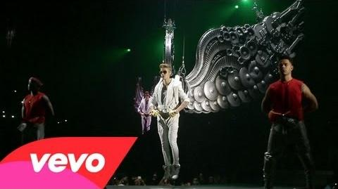 Justin Bieber - All Around The World (Official). Ludacris