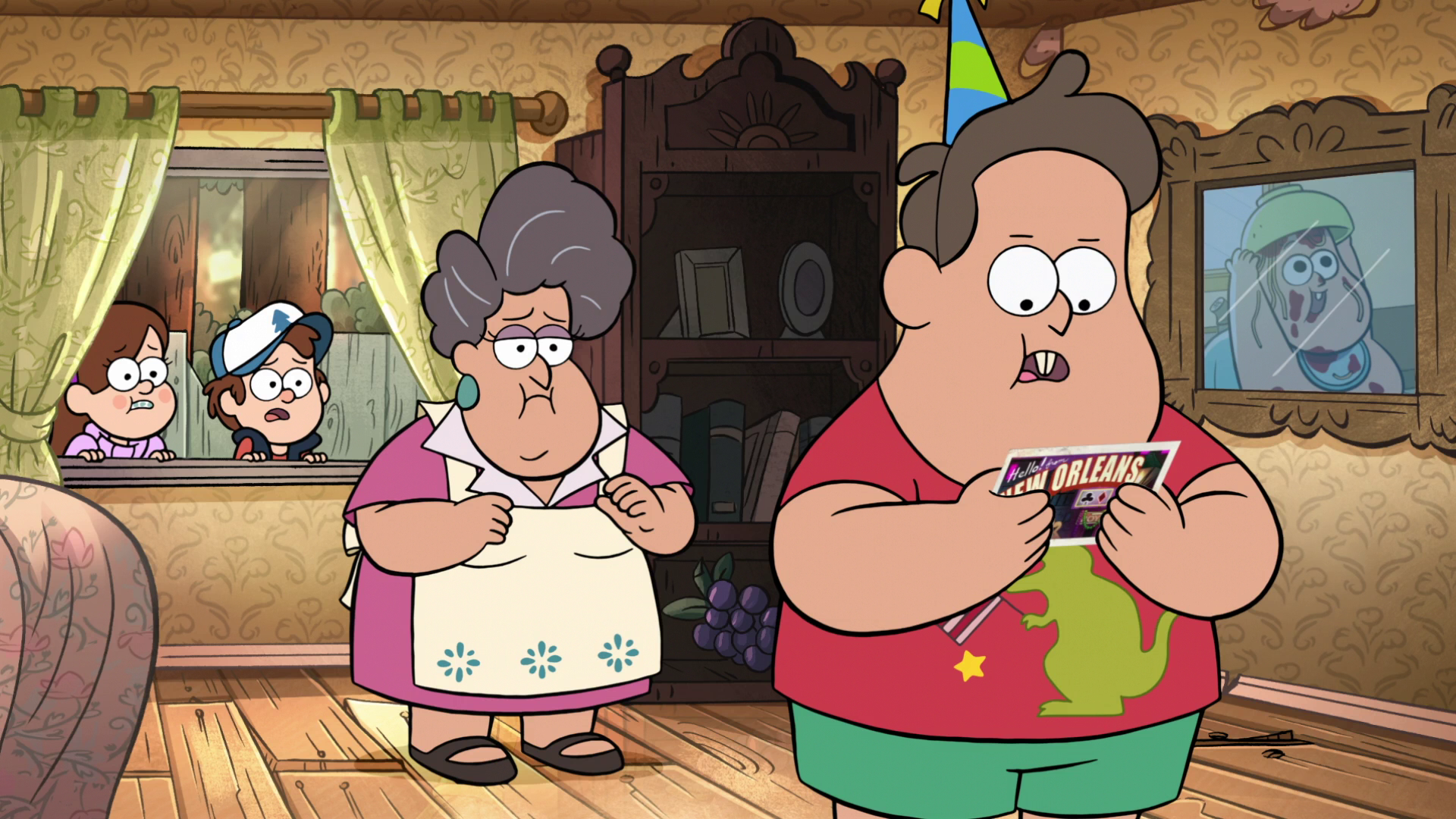 Gravity falls waddles pigged out