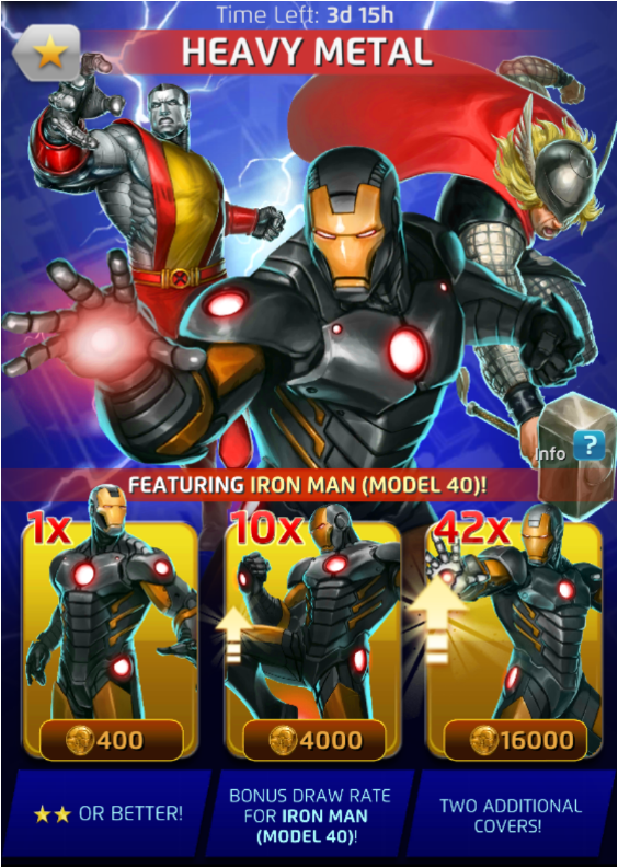 heavy metal season viii marvel puzzle quest wiki. Black Bedroom Furniture Sets. Home Design Ideas