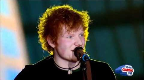 Ed Sheeran - The A Team Live At Summertime Ball 2012 Performances