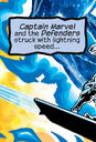 Celestial Order (Earth-4321) vs. Defenders (Earth-4321) and Captain Marvel (Earth-4321) from Marvel Universe The End Vol 1 4.jpg