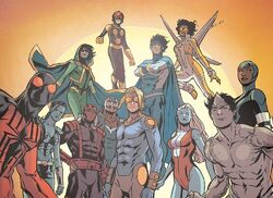 New Warriors (Earth-616) from New Warriors Vol 5 12
