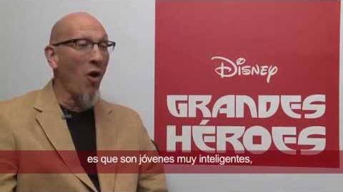 Grandes Héroes - Entrevista Roy Conli - Disney Pictures