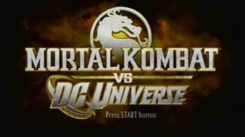 Mortal Kombat - Character Select
